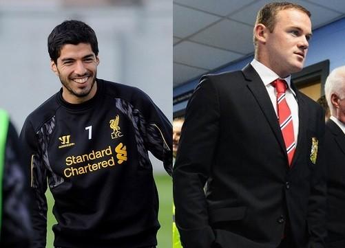 Suarez; Rooney