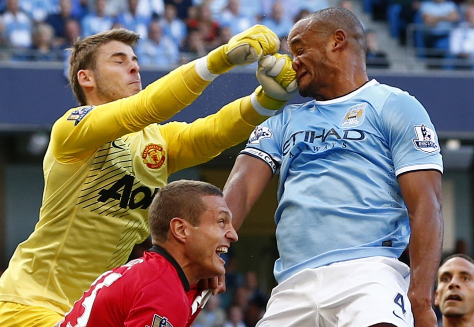 David De Gea-Vincent Kompany