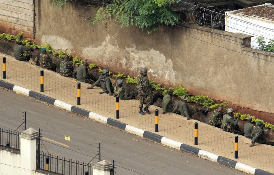 Kenyan soldiers Westgate