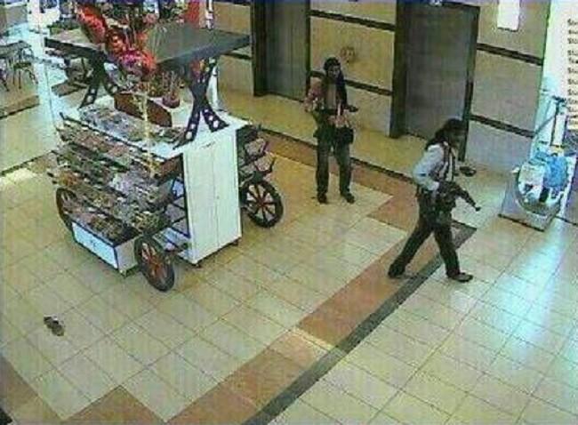 Nairobi Westgate mall attackers