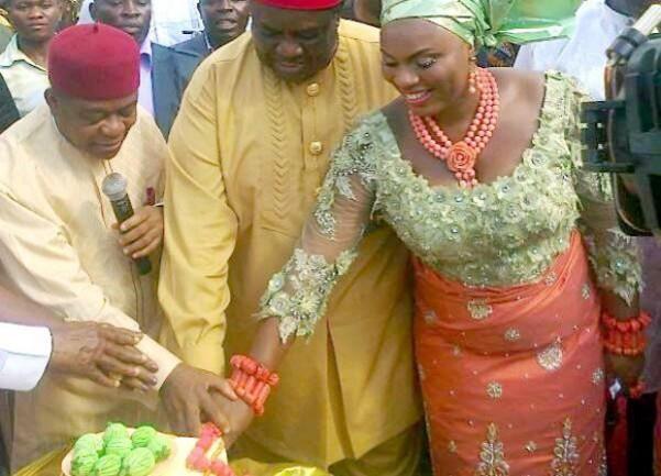 Emmanuel Iwuanyanwu and Frances Chinonyerem Enwerem