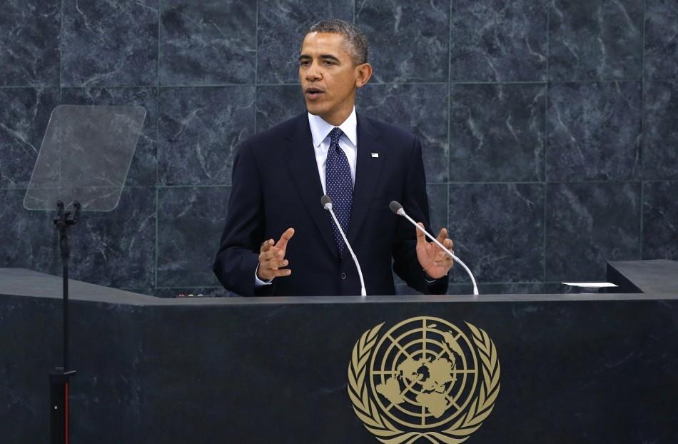 Obama Speech UN