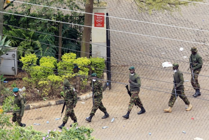 Nairobi Westgate Mall Siege Over