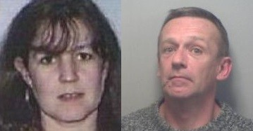 Debra Wright (L) and her husband Darren fled to Spain with some of the drug money (Kent Police)