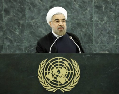 Iranian President Hassan Rouhani at 68th General Assembly of the United Nations