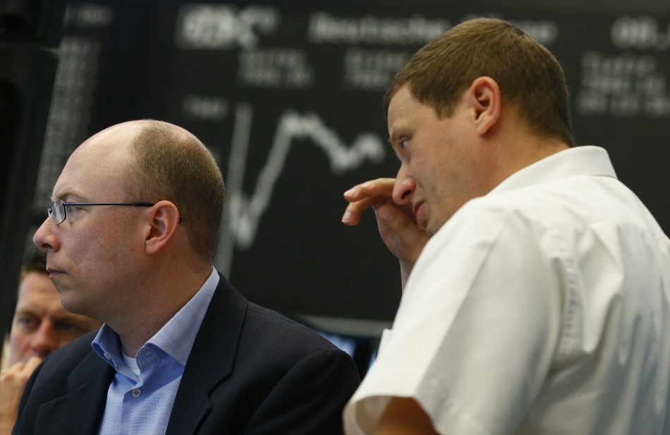 European markets open lower on 25 September