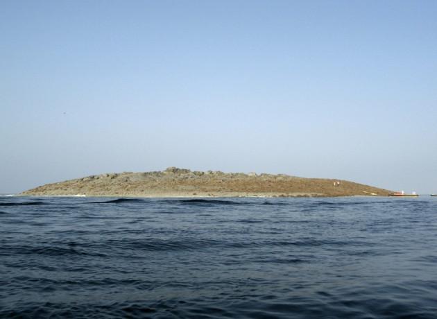 Pakistan earthquake creates an island