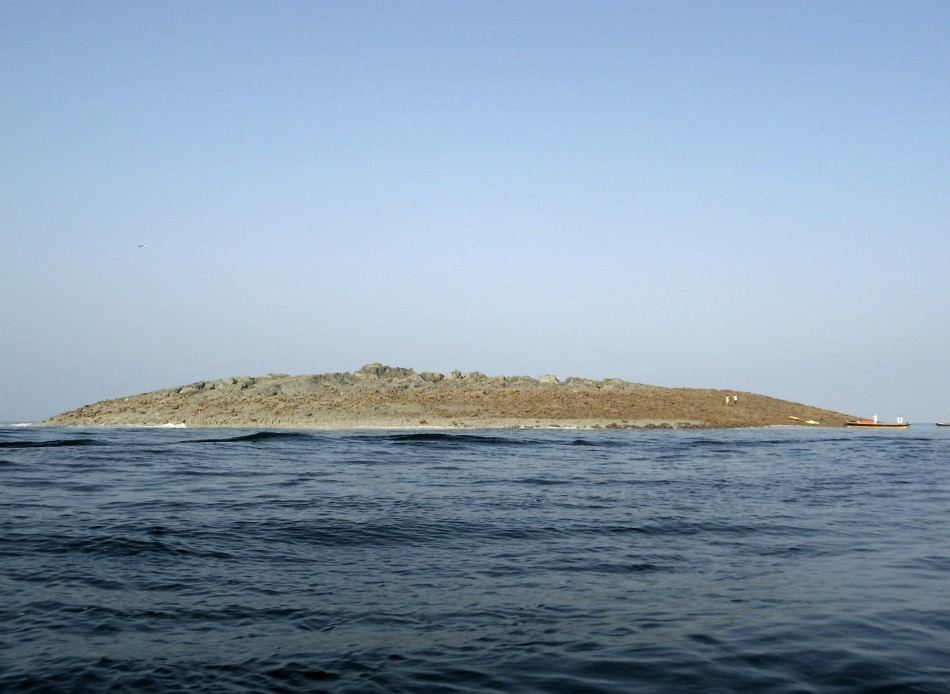 Pakistan earthquake creates an island