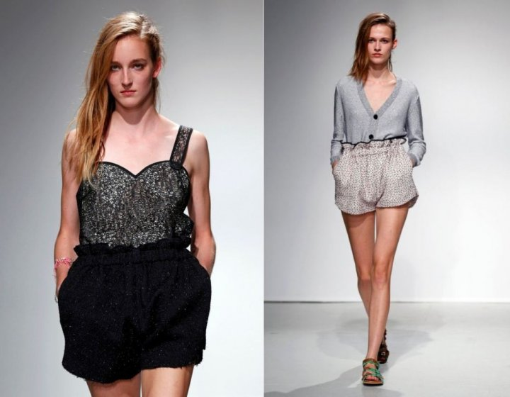 Models present Julien David's Spring/Summer 2014 women's ready-to-wear collection. (Photo: Reuters)