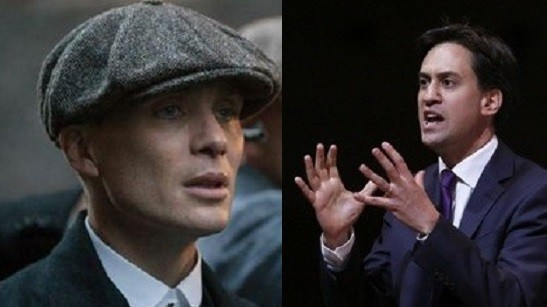 Is Ed Miliband ready to grab Cillian Murphy's Peaky Blinder role?