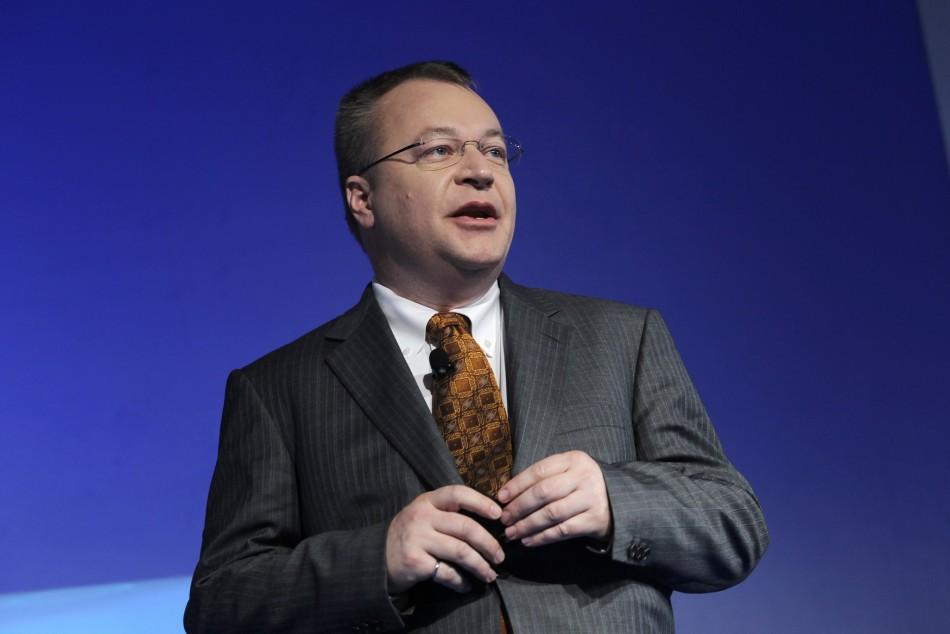 Nokia chief executive Stephen Elop