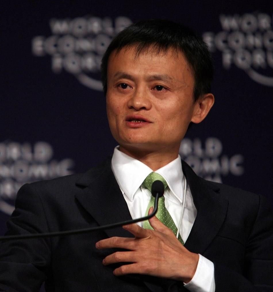 Jack Ma, 2008 at World Economic Forum