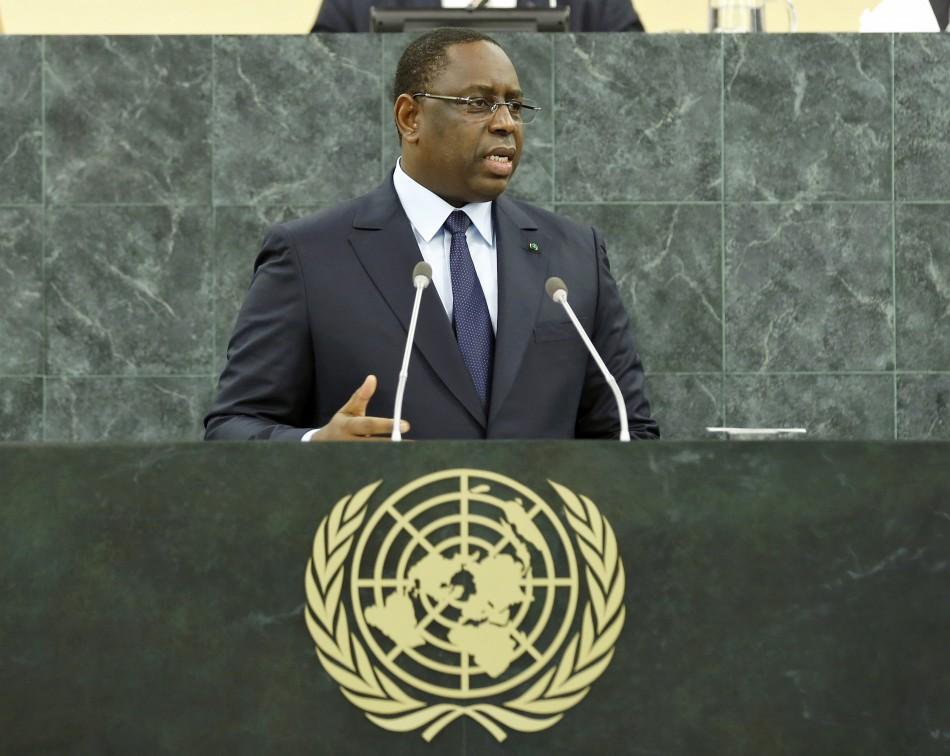 President of Senegal Macky Sall at 68th UNGA (UN Photo/Amanda Voisard)