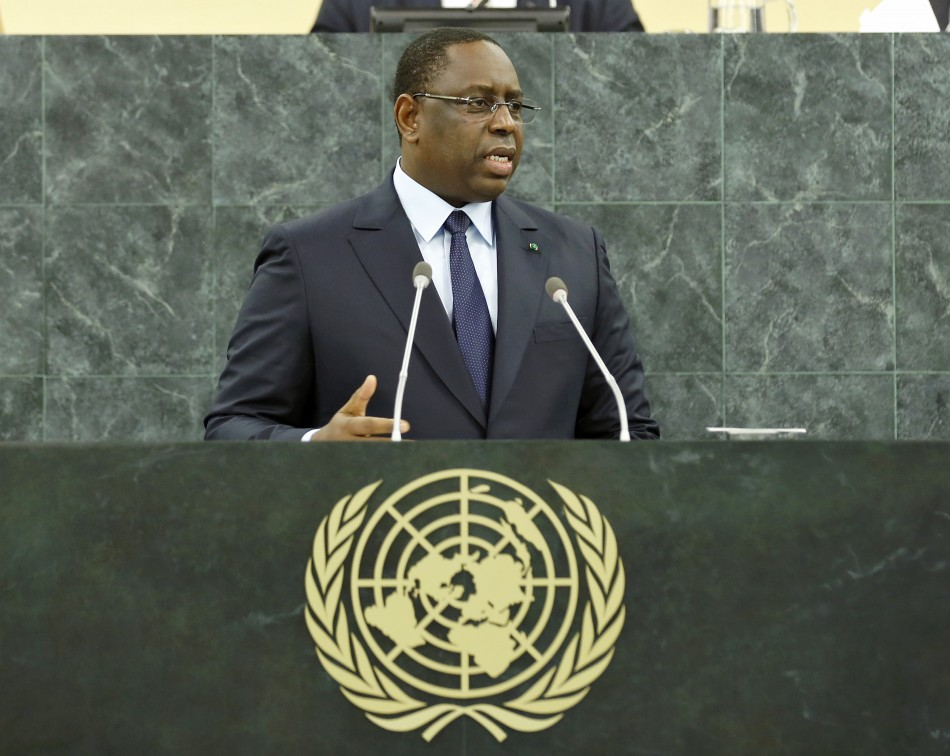 President of Senegal Macky Sall at 68th UNGA (UN Photo/Amanda Voisard)