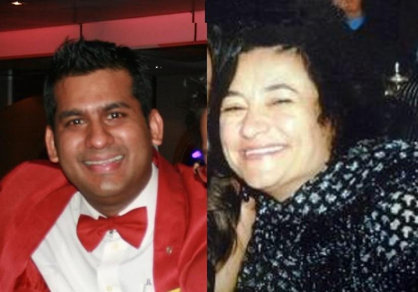 Russel Rebello and Maria Grazia Trecarichi