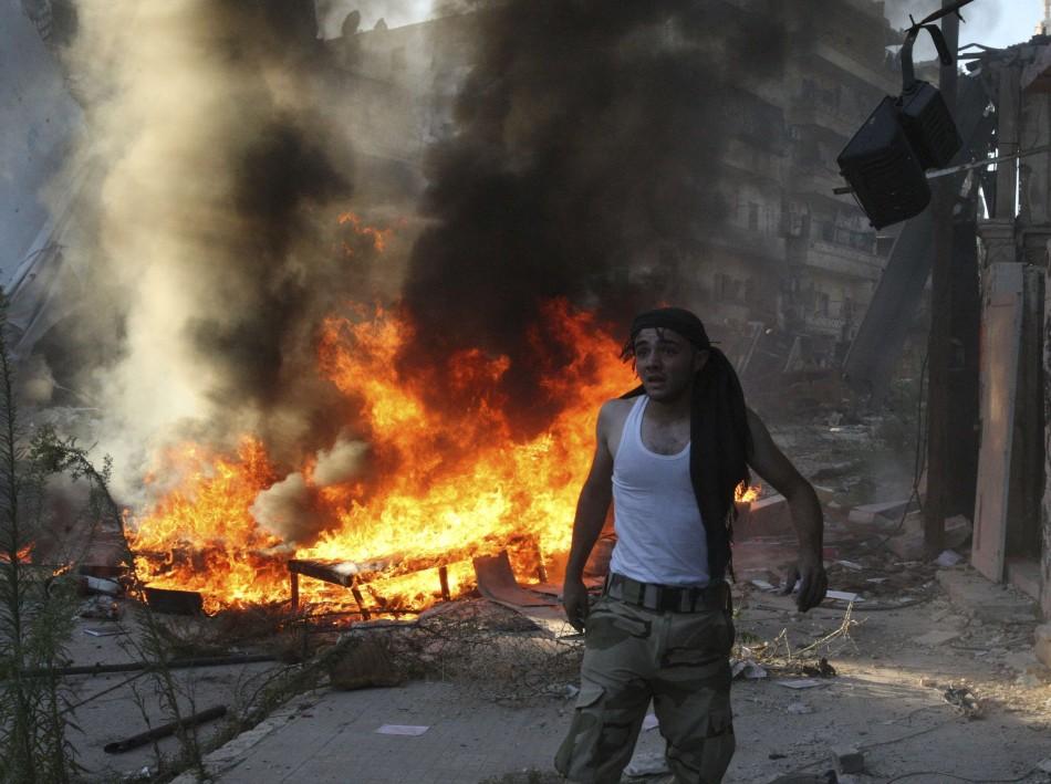 UN draft resolution Syria conflict