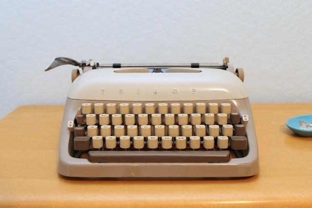 German Typewriter