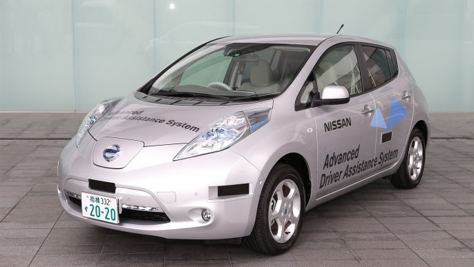 Nissan Self-Driving Car Now Road Legal in Japan