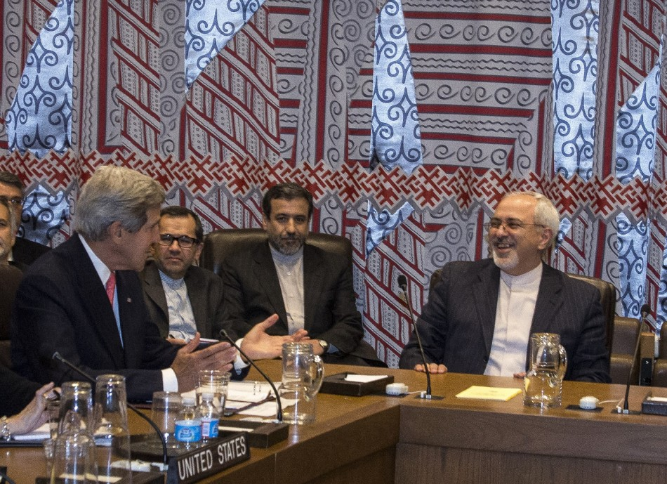 Kerry Iran Nuclear Zarif
