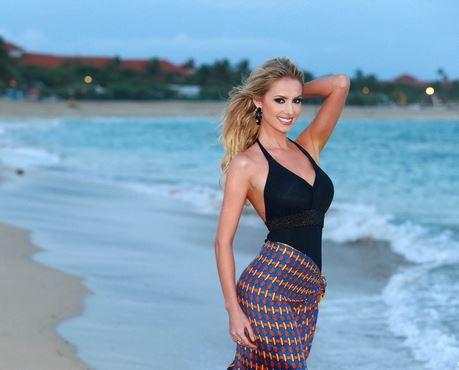 Miss Brazil Sancler Frantz took home the Miss Beach Beauty award