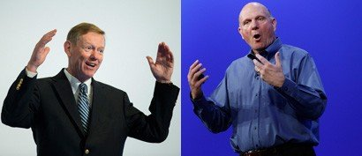 Alan Mulally and Steve Ballmer