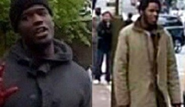 Michael Adebolajo (L) and Michael Adebowale are accused of murdering Lee Rigby in Woolwich