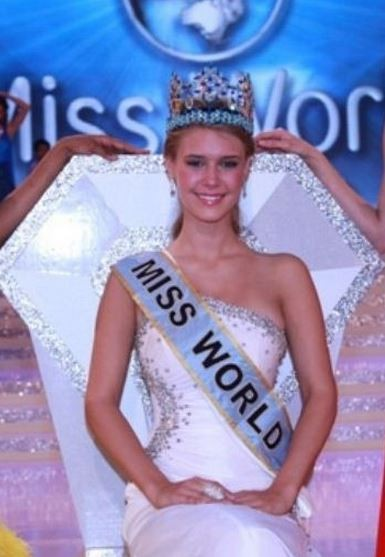 Miss World 2010 was Alexandria Mills from the United States Facebook/Alexandria Mills