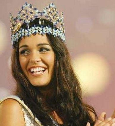 Miss World 2009 was Kaiane Aldorino from Gibraltar Facebook/Kaiane Aldorino
