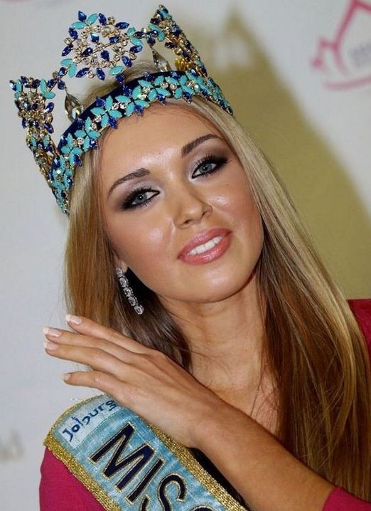 Miss World 2008 was Ksenia Sukhinova from Russia Facebook/Ksenia Sukhinova