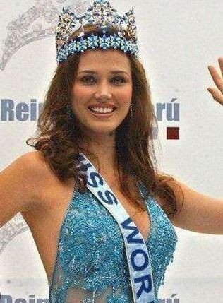 Miss World 2004 was Maria Julia Mantilla from Peru (Facebook/Maria Julia Mantilla)