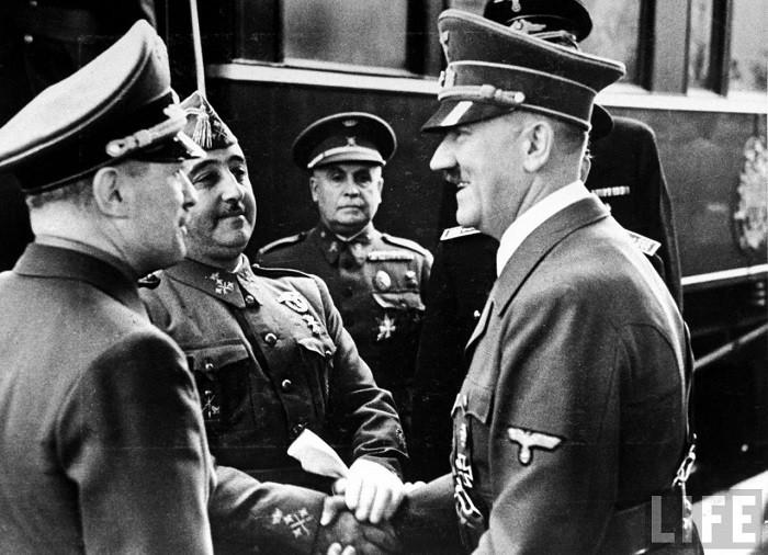 Hitler Franco