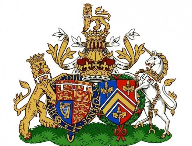 Kate Middleton and Prince William's new conjugal coat of arms