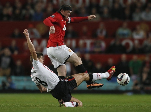 Wayne Rooney-Steven Gerrard