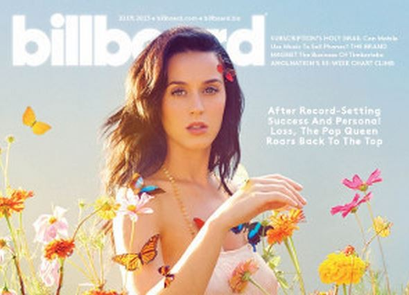 Katy Perry on Billboard Magazine Cover (Billboard)