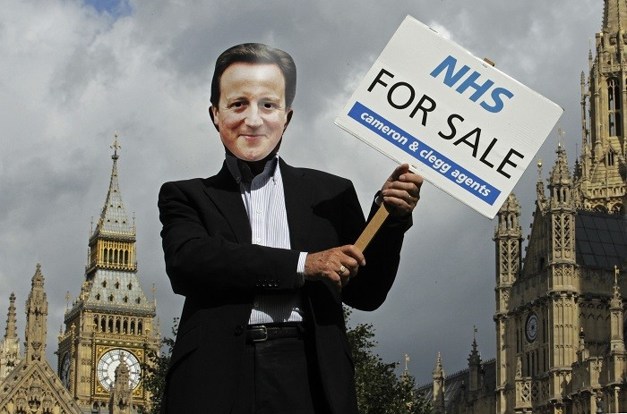 NHS protests