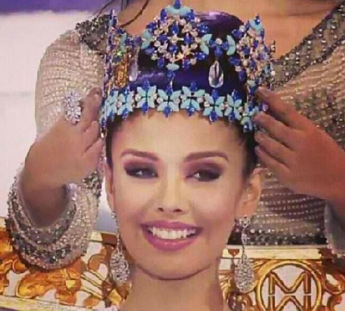 Miss Philippines Megan Young crowned Miss World 2013 (Twitter-Faces & Curves)