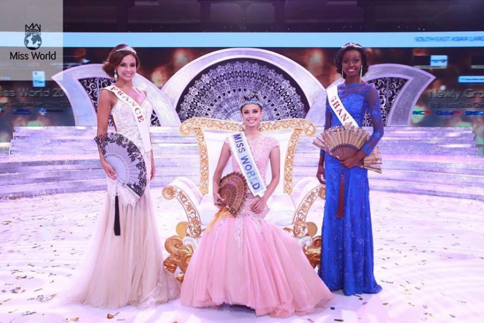 Megan Young of the Philippines is the new Miss World (Facebook/MeganYoung)