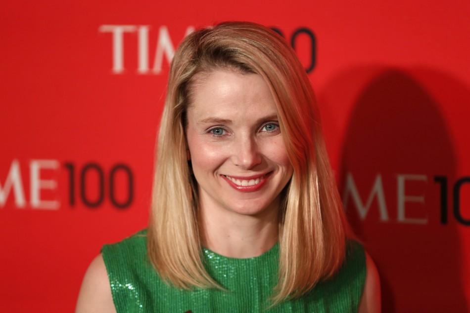 Marissa Mayer, President and CEO of Yahoo