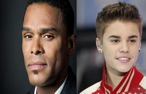 Maxwell and Justin Bieber