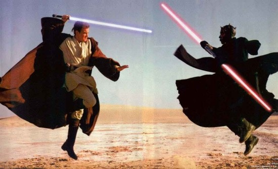 Scientists create real-life lightsaber