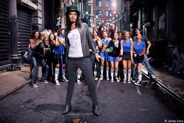 End of Jemima Khan, Russell Brand Romance, Brand States He is Single (Facebook/RussellBrand)