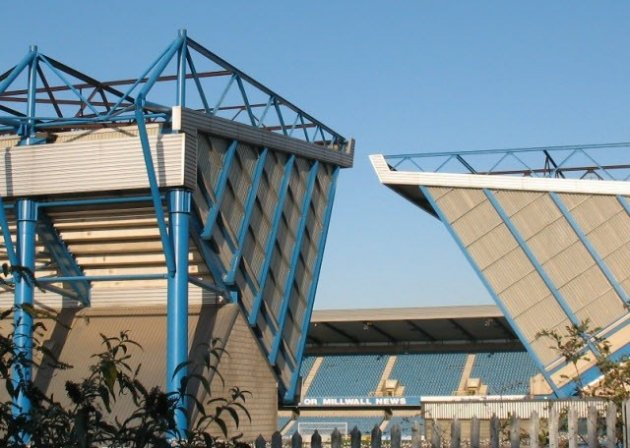 The Den, where Leeds fans claim police ignored offensive chants by Millwall suuporters PIC: Reuters