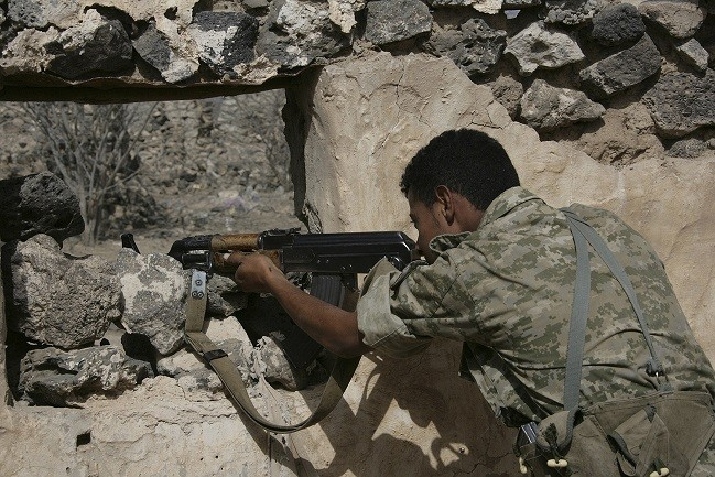 Government in Yemen is fighting Al-Qaida terror raids PIC: Reuters