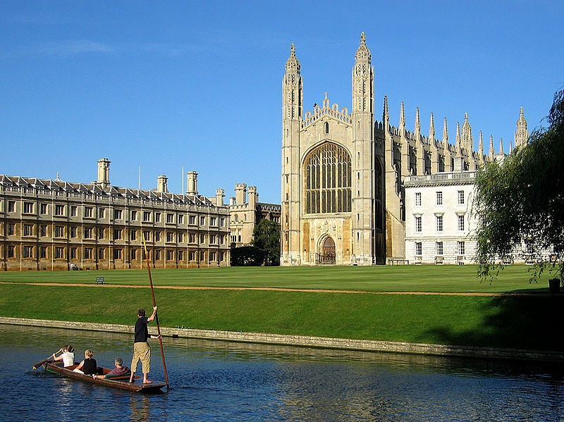 Cambridge, The Backs and Kings College
