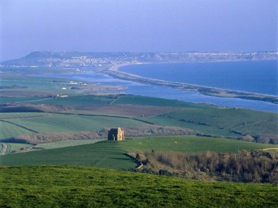 Chesil Beach, from Abbotsbury along the coast to Portland Bill