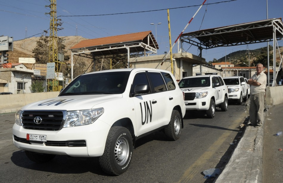 Syria chemical weapons inspection