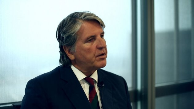 Peter Shakeshaft, chairman of Vin-X talks about fine wine investment (Photo: IBTimes UK)