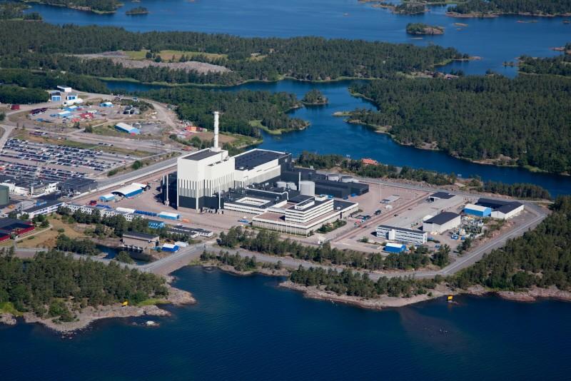 Oskarshamn nuclear plant