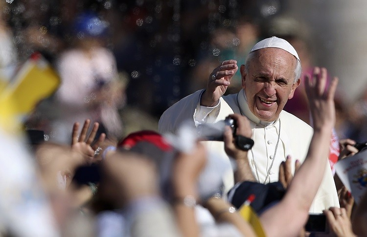 IOR annual report shows €54.7m was given to the Pope Francis to carry out the Church's mission around the world. (Photo: Reuters)