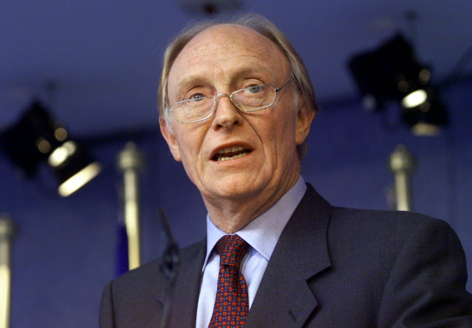Neil Kinnock's avid support of Cardiff got him in trouble at Fulham FC's Craven Cottage ground PIC: Reuters